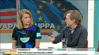 """Professori: EU:n ja USA:n vapaakauppasopimus sisältää """"hiljaa räjähtävän pommin"""" - Talous - Uutiset - MTV.fi"""