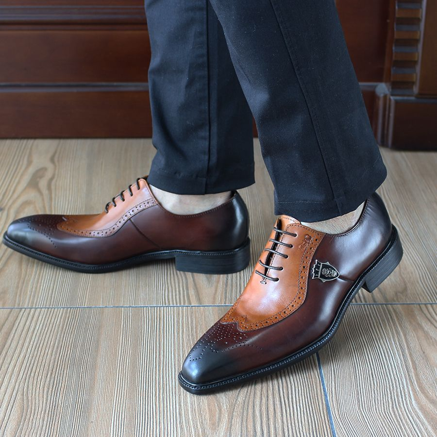 Mens Business Shoes · Leather Dress Shoes · Find More Formal Shoes  Information about FELIX CHU Italian Pure Handmade High Quality Classic Oxford  Formal 737af888e42b