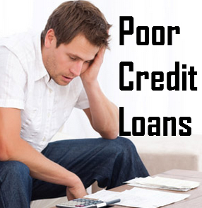 Poor Credit Loans- Texture Your Life Easier