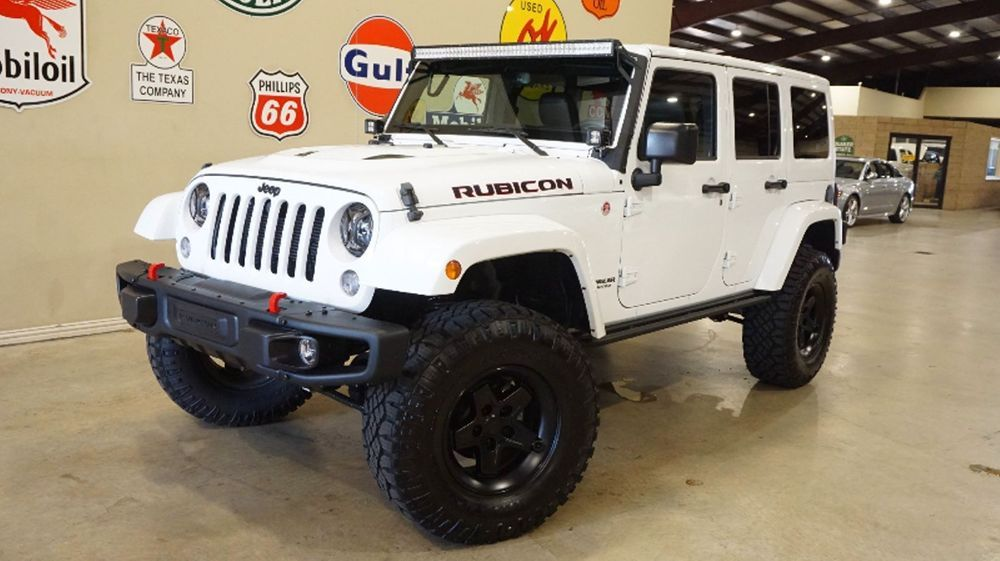 Ebay Jeep Wrangler Unlimited Rubicon Hard Rock 4x4 Lifted Nav Lth