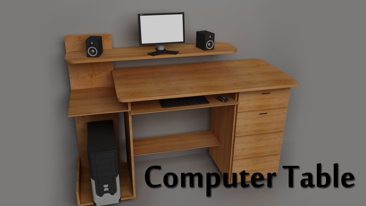 Image Result For Computer Table Design Computer Table Design