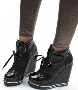 1000  images about Sneaker/Grunge/Punk Wedges on Pinterest | Emo ...