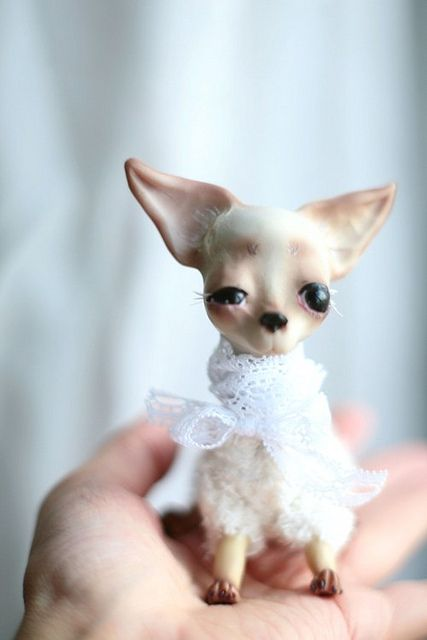 Untitled Art Dolls Chihuahua Pop Culture Art