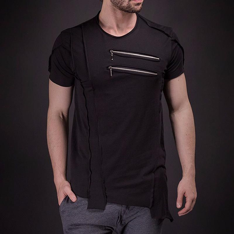 Cool Design High Streetwear with Zipper 2659