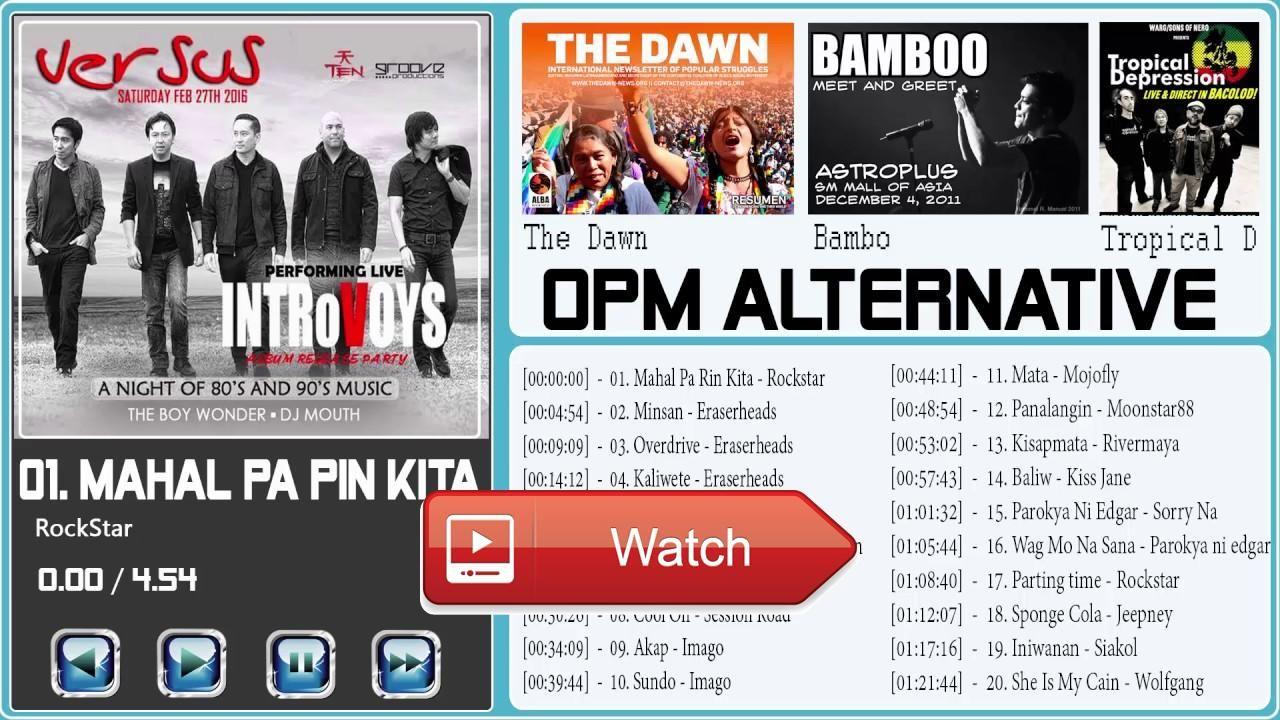 OPM Playlist Alternative Compilation 17 l Opm Alternative Rock Love