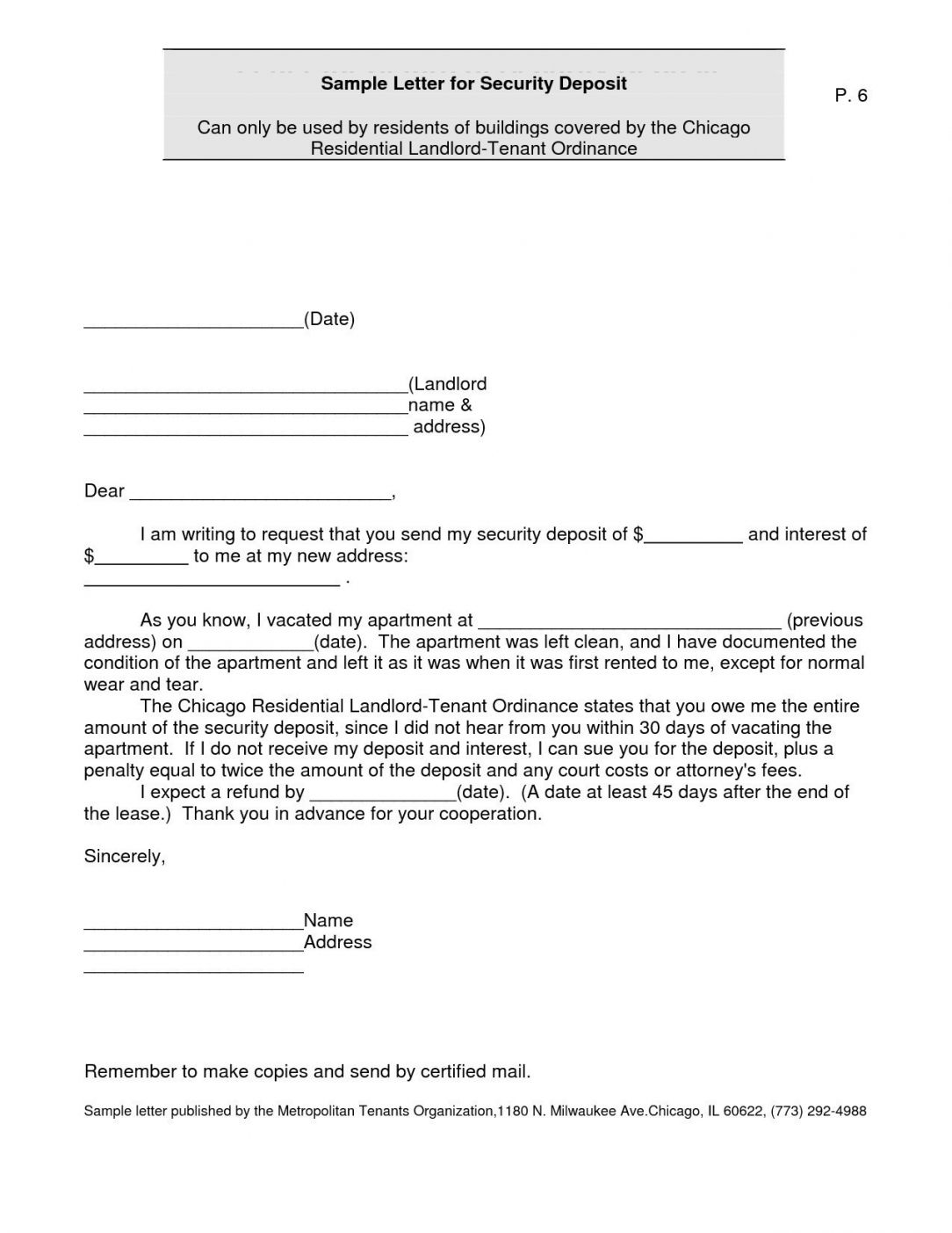 Refund Demand Letter Template in 2020 Letter templates