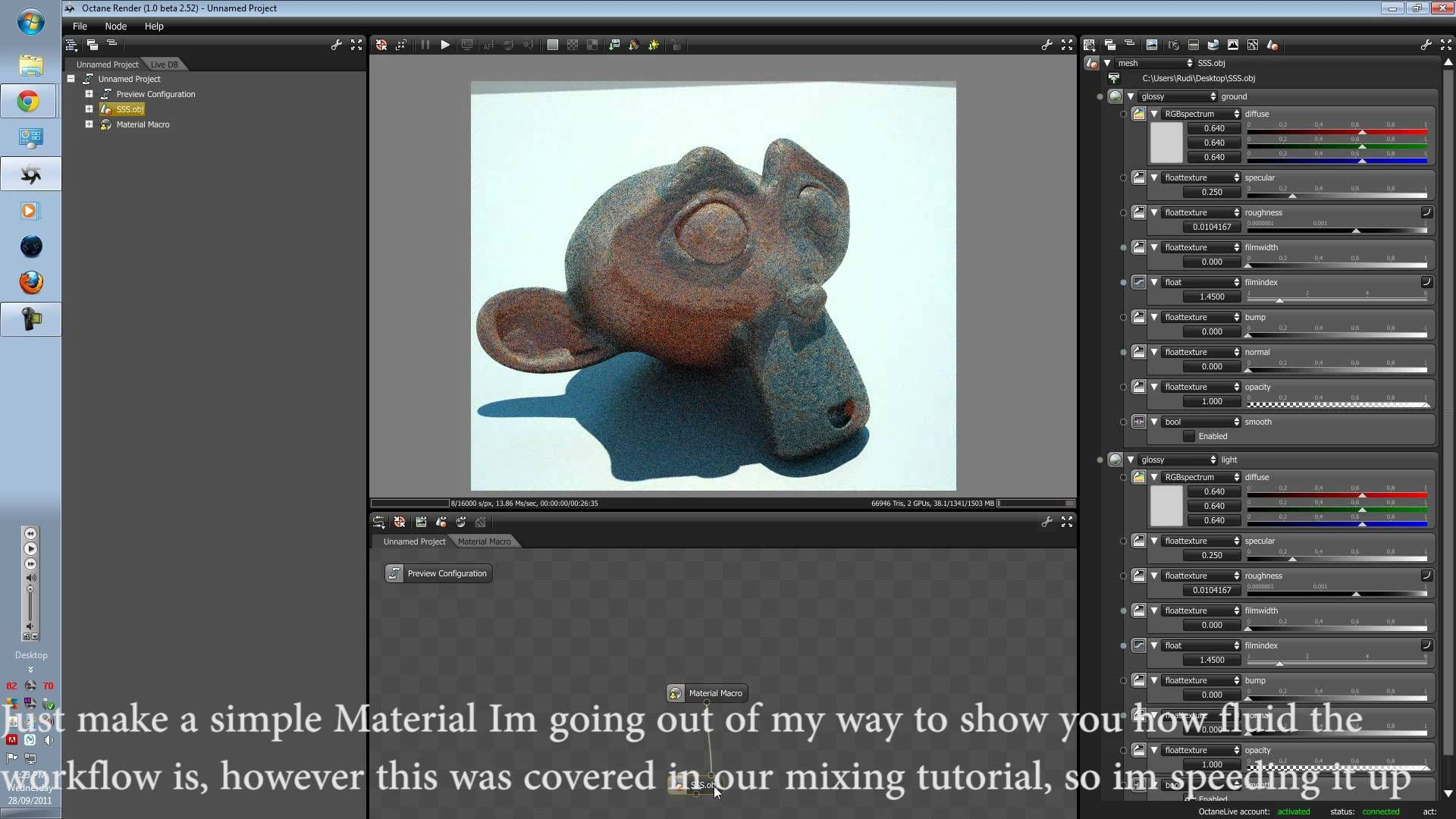 Octane render tutorial series v3: new info passes and raw filters.