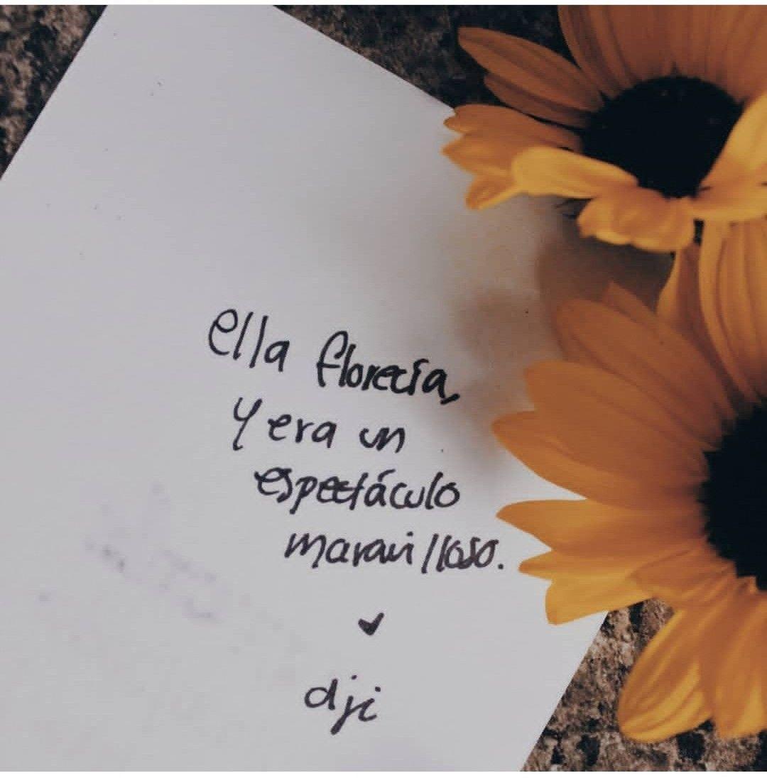 Ella Florecia Y Era Un Espectaculo Maravilloso Selflove