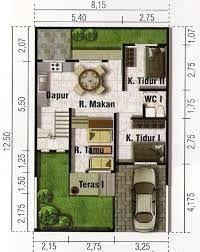 Resultado de imagem para planos de casas de 90m2 de 2 pisos