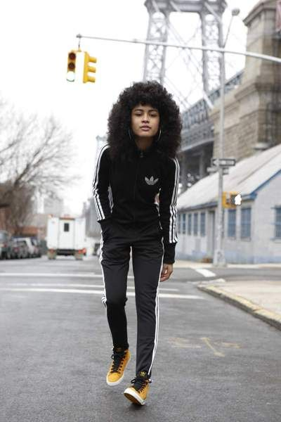 adidas ny woman s street style   fashion   music   Cheryl Dunn ... 62b36947739