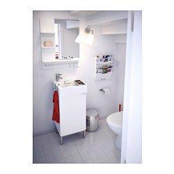 Lill ngen lavabo blanc porte savon rebord et lavabo - Porte savon ikea ...