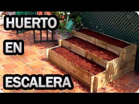 Como Hacer Un Huerto En Escalera || Huerto Urbano|| La Huertina De Toni