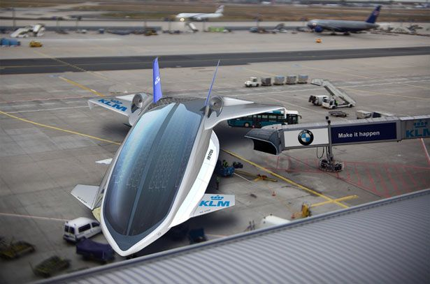Redesigning Commercial Aircraft Concept by Shabtai Hirshberg