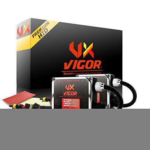 Vigor H4 9003 Hb2 Bixenon High Low Dual Hid Xenon Hid Conversion Kit 5k 5000k Oem White Color 2 Bu Recessed Light Conversion Kit Electrical Layout Ballast