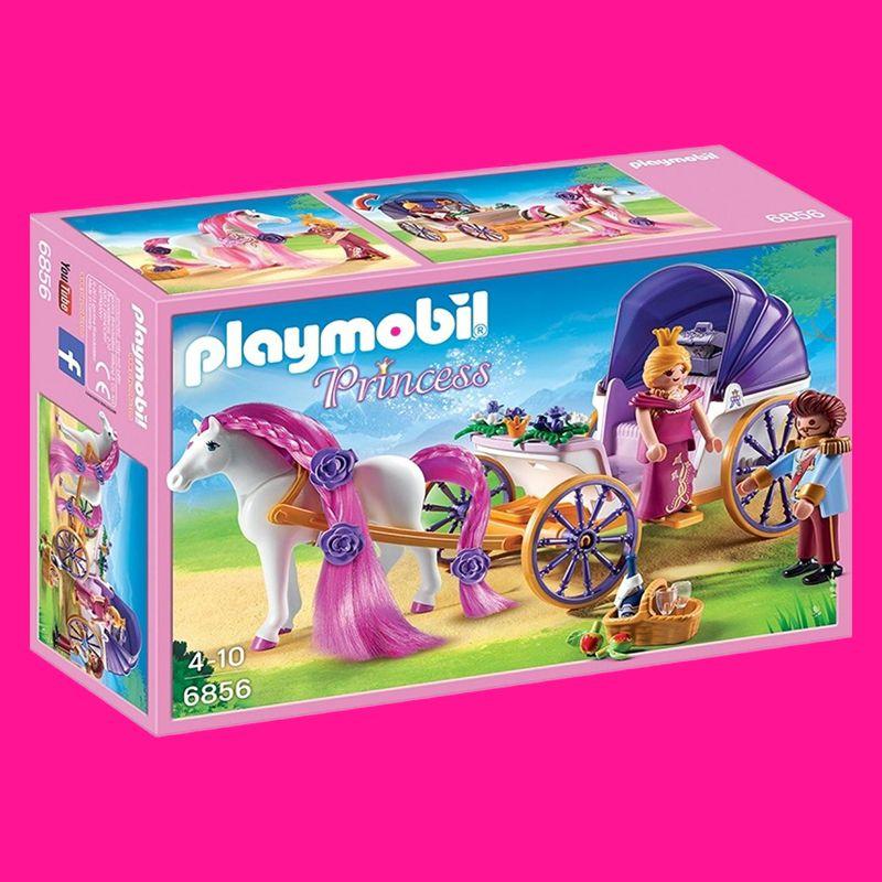 Diese Sehr Beliebte Serie Playmobil Princess Mit Konigspaar Und Pferdekutsche Macht Allen Kleinen Prinzessinnen Im Ki Mit Bildern Playmobil Madchen Spielzeug Pferdekutsche