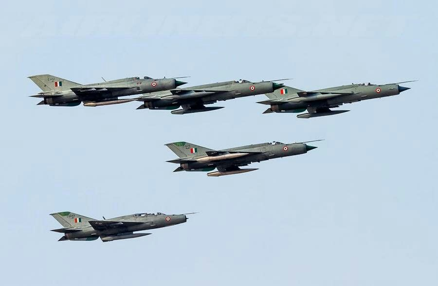 Indian Air Force Mig 21 Bisons