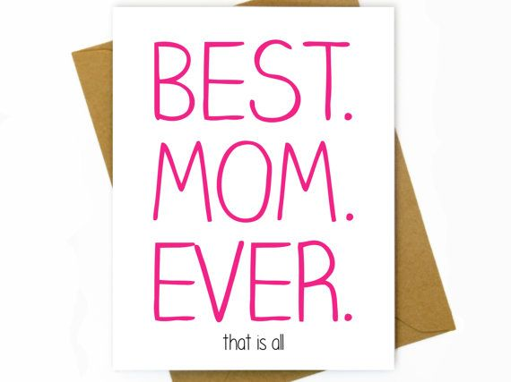 Mothers Day Sweet Card For Mothers Day Funny Mothers Day Card
