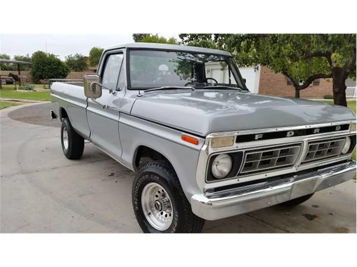 1976 ford f150 for sale cc 608852 driven ford f150 for sale. Black Bedroom Furniture Sets. Home Design Ideas