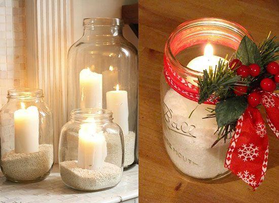 Resultado de imagem para decoração natal simples e barata
