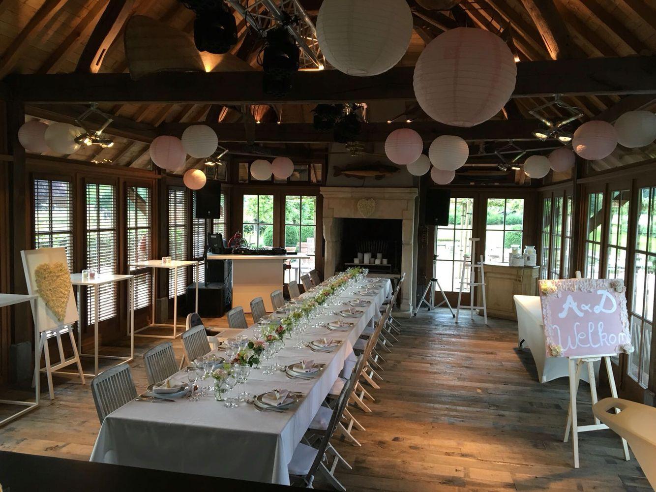 Decoratie wedding a d wedding