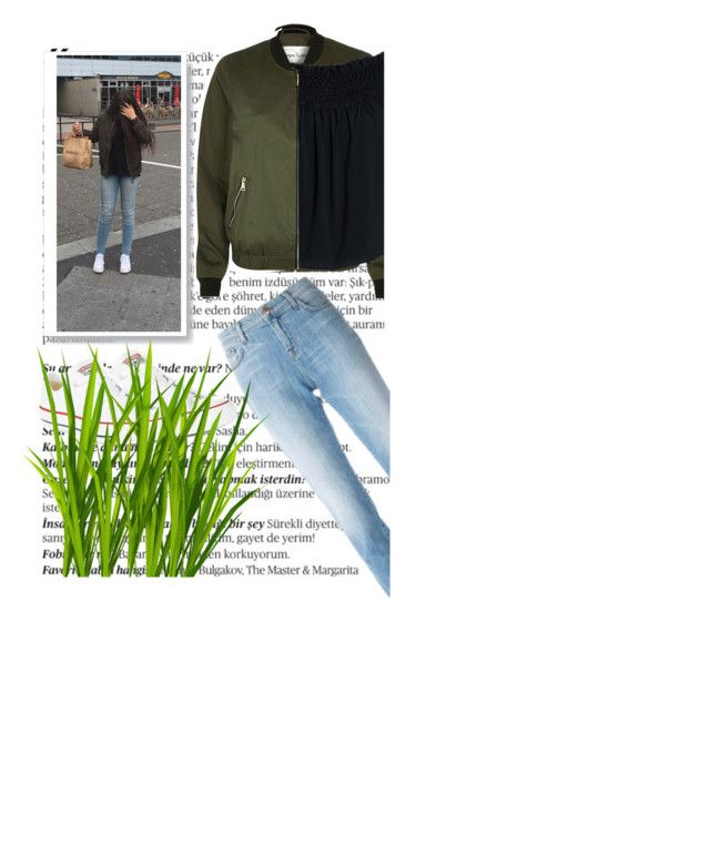 """""""Untitled #51"""" by roro-moon on Polyvore featuring Balmain, River Island, Canvas by Lands' End, J Brand and Converse"""