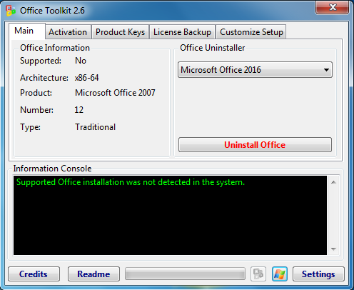 crack office 2016 toolkit