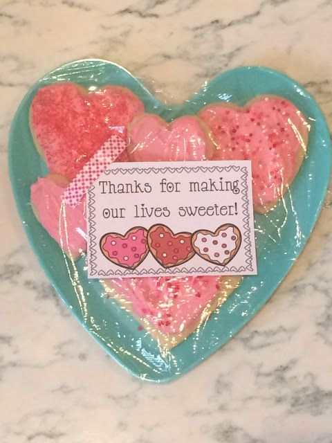 Thanks for making our lives sweeter!  Free Printable tags and Valentines ideas