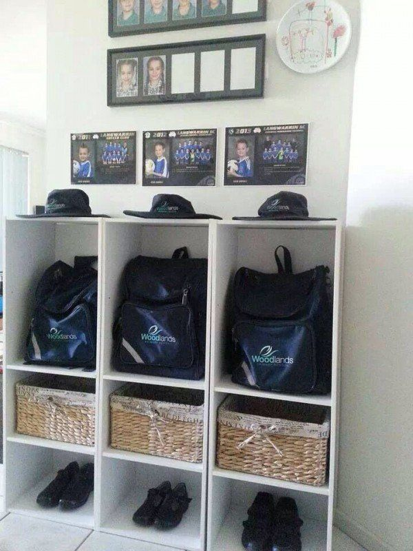 40 School Bag Storage Ideas School Bag Storage School Bags For