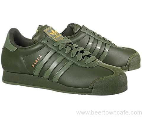 size 40 dca32 64c04 Men  s - Adidas Samoa Strong Olive   Base Green Shoes Olive Green Adidas