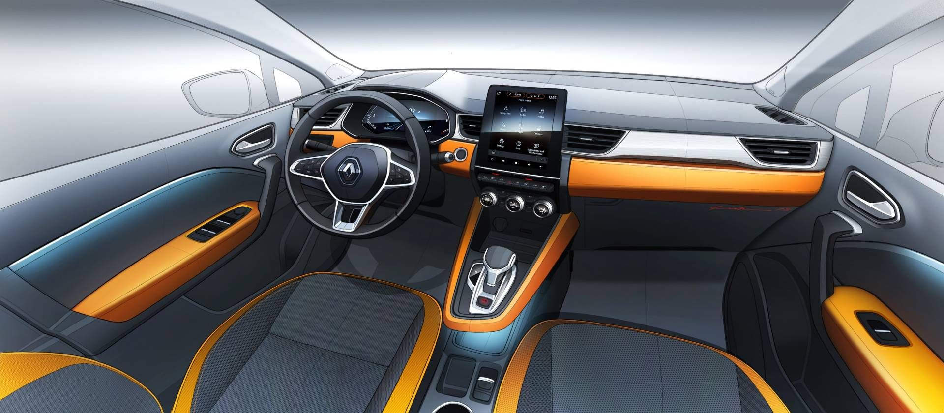 All New 2020 Renault Captur Is The Definition Of Evolution Renault Captur Renault New Renault