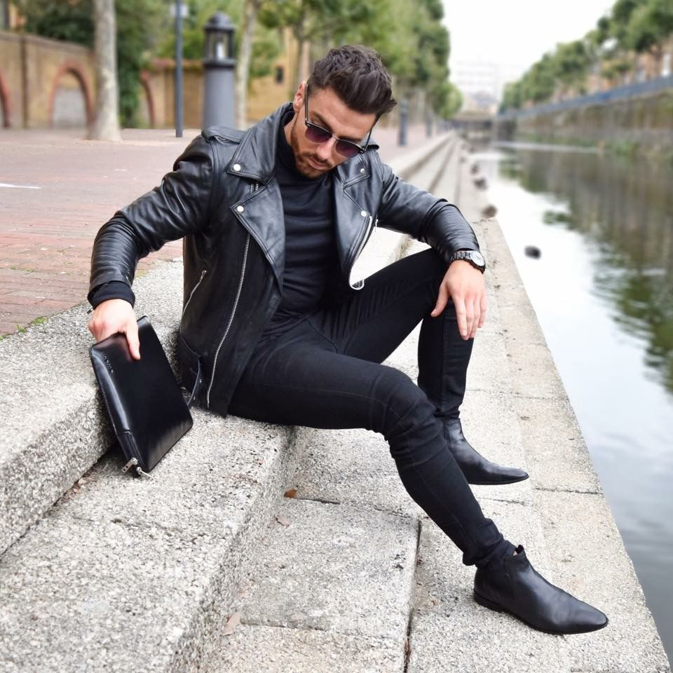 bbe49cb4d6b All black men street style brought to you by Tom Maslanka