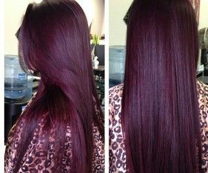 Image Result For Hairstyles Color Tumblr Burgundy Hair Hair Styles Plum Hair