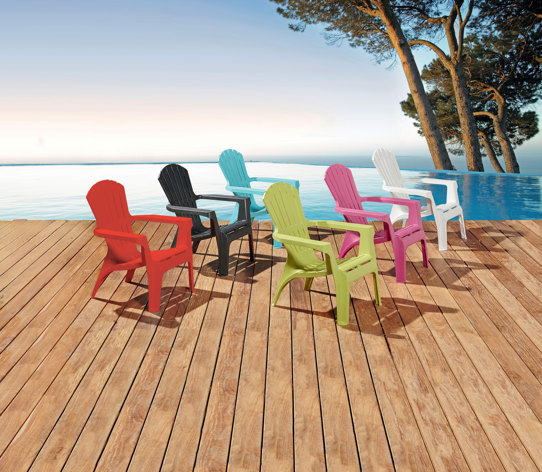 Chaises colorées de jardin Centrakor | Printemps/Ete | Pinterest
