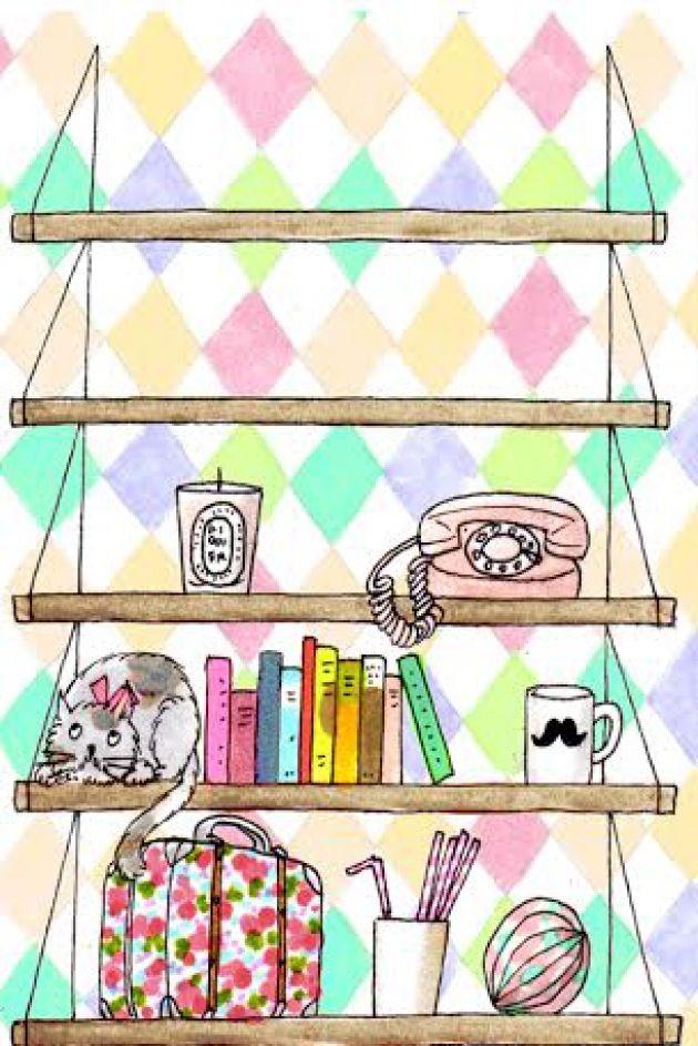 Fond d 39 ecran my little paris kanako kanako illustration for Fond ecran paris