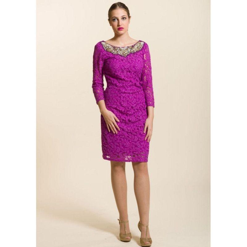 Vestido corto morado | Products | Pinterest | Vestidos cortos, Piel ...