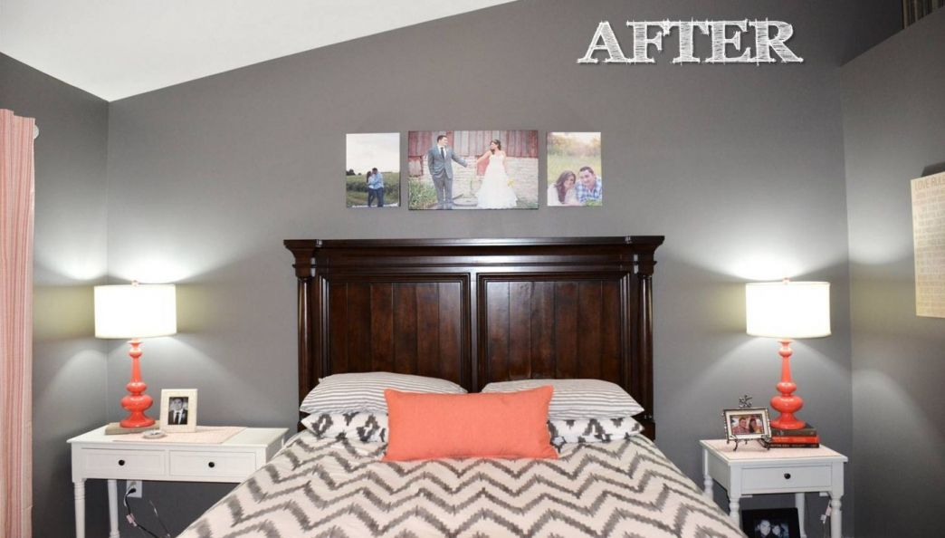 Gray And Coral Bedroom Ideas   Country Bedroom Decorating Ideas Check More  At Http:/