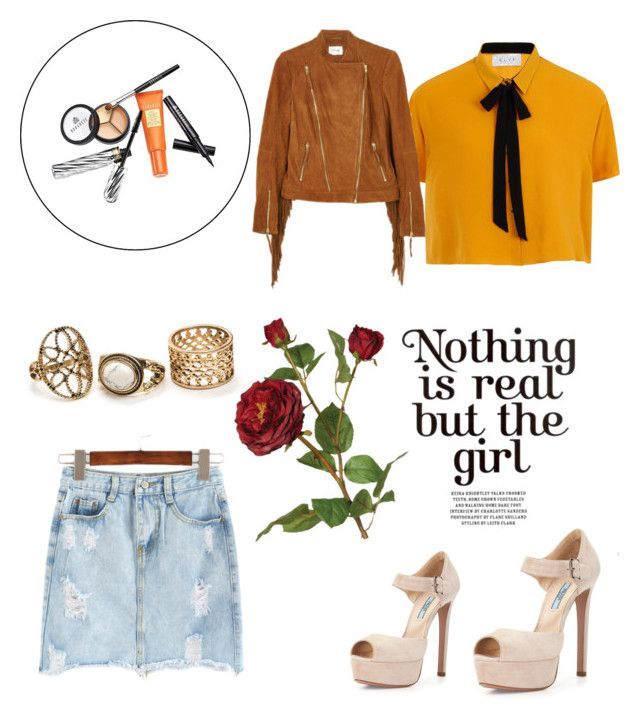 """Sans titre #127"" by giirly1994 ❤ liked on Polyvore featuring Borghese, Elvi, Prada, Gestuz and OKA"