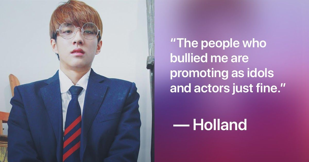 Full Story Behind The Homophobic Bullying Holland Suffered During Middle School Holland Bullying Middle School