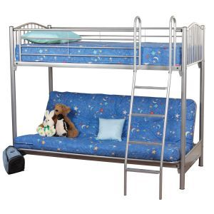 Sweet Dreams Garnet Futon Bunk Bed Bunk Beds