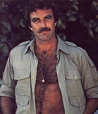 Tom Selleck...this is for my Grandma who every Christmas asked for Tom as a gift!