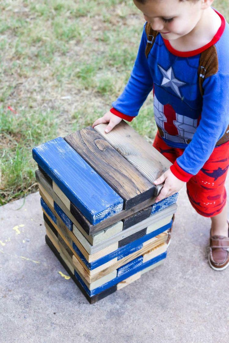 outdoor spiele f r kindergeburtstag xxl jenga spielen garten turm spiele usw hochzeit. Black Bedroom Furniture Sets. Home Design Ideas