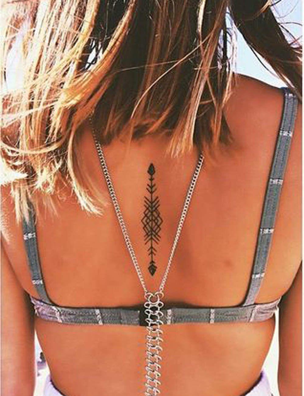 Le tatouage est plus tendance que jamais. Très féminin, le tatouage sus la  colonne vertébrale est douloureux mais extrêmement sexy. Huit tatouages  géniaux