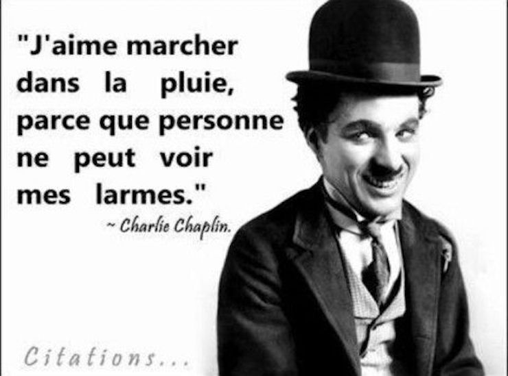 Les Meilleures Citations De Charlie Chaplin Inspirant Fr