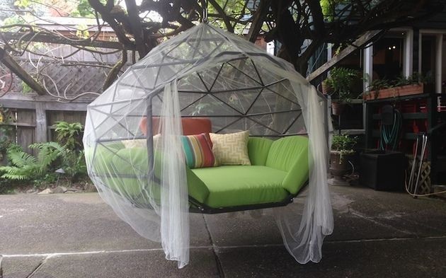 #Möbel Hängende Outdoor Lounge Kodama Zome #decor #decoration #garten #art  #dekor #besten#Hängende #Outdoor #Lounge #Kodama #Zome
