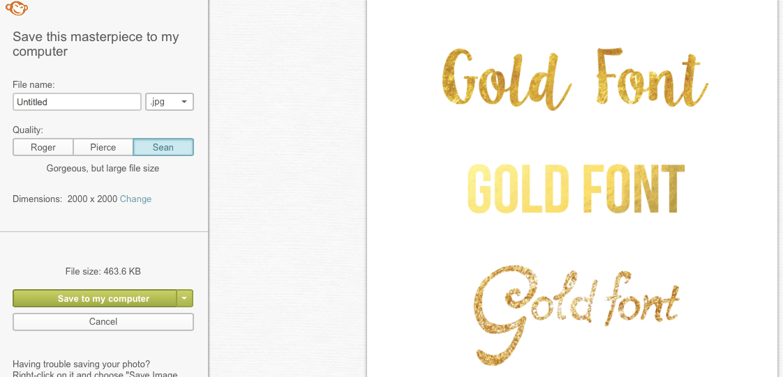 Free & Easy Gold Font Tutorial – Mackenzie Kendall | Fonts