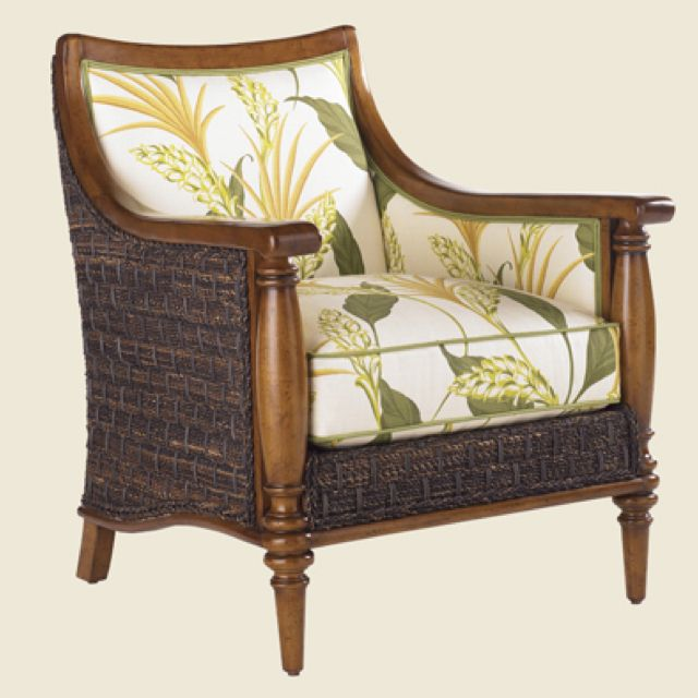 Cuban Inspired Chair British Colonial Decor Estate Furniture Tommy Bahama Furniture