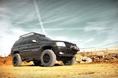 Rough Country 90820 4 Inch X Series Long Arm Suspension Lift System W Performance 22 Shocks Jeep Wj Monster Trucks Jeep