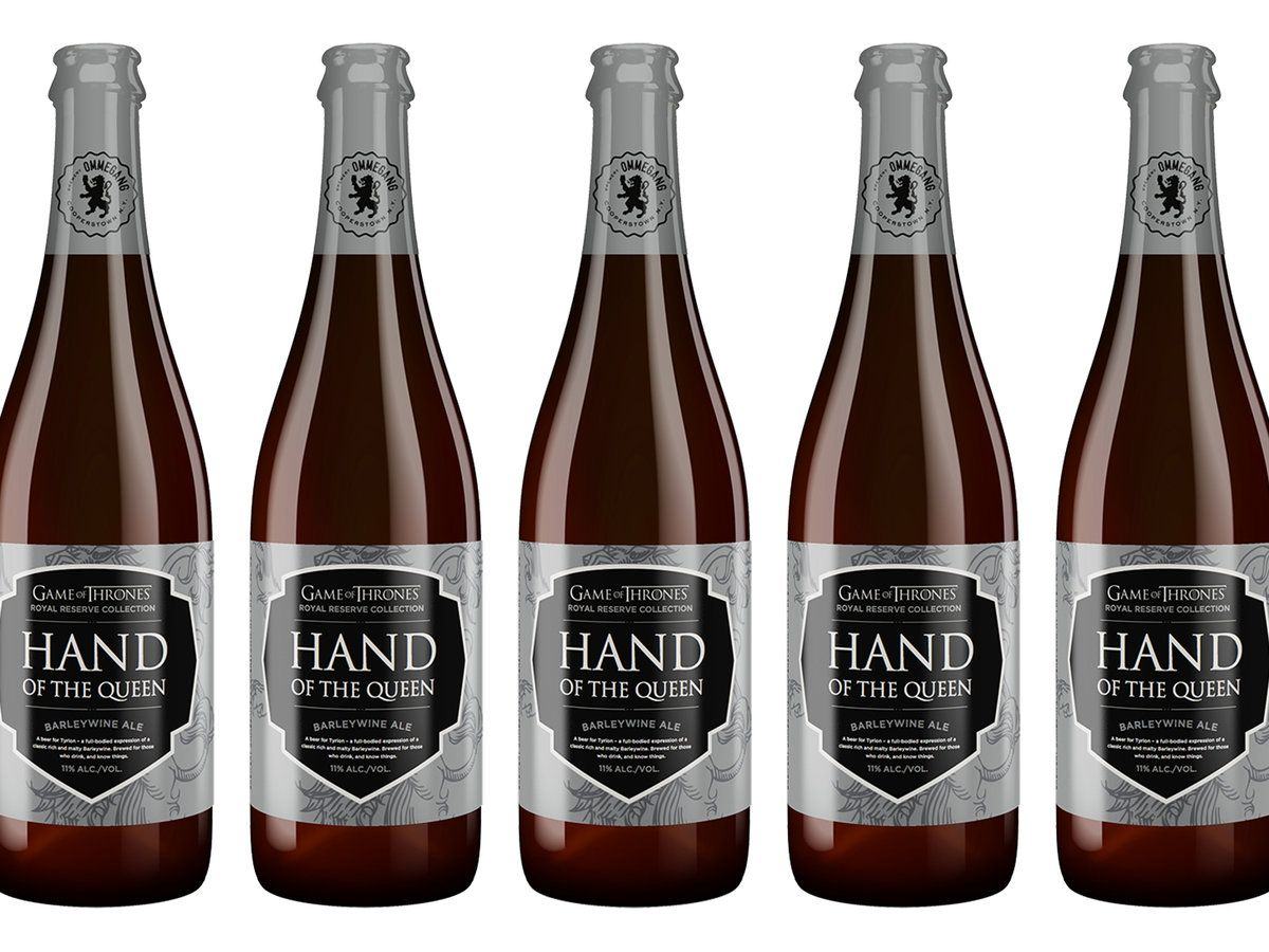 A Collection of Four New 'Game of Thrones' Beers Set for