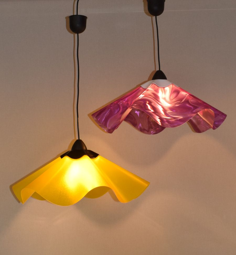 Onda Die Lampenschirme Mit Wellen Lampenschirm Dekorative Lampen Led Lampe