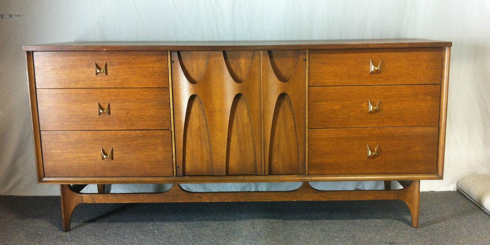 Broyhill Brasilia Dresser Credenza Mid Century Modern Herman